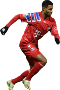 Serge Gnabry football render