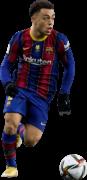 Sergiño Dest football render