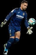 Sergio Asenjo football render