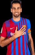 Sergio Busquets football render