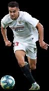 Sergio Reguilón football render