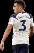 Sergio Reguilon football render