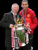 Sir Alex Ferguson & Chris Smalling football render
