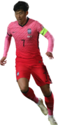 Son Heung-Min football render