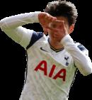 Son Heung-Min football render