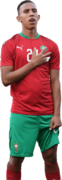 Soufiane Rahimi football render