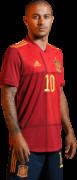 Thiago Alcantara football render