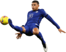 Thiago Silva football render