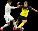 Thiago Silva & Erling Braut Håland football render