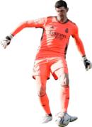 Thibaut Courtois football render