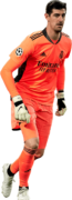 Thibaut Courtois football render