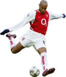 Thierry Henry football render