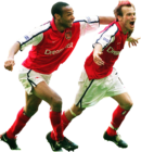 Thierry Henry & Fredrik Ljungberg football render
