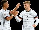 Thilo Kehrer & Timo Werner football render