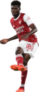 Thomas Partey football render