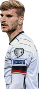 Timo Werner football render