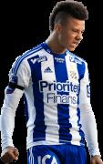 Tobias Sana football render