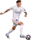 Toni Kroos football render