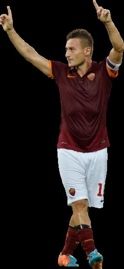 Francesco Totti football render - 13290 - FootyRenders