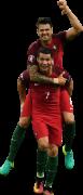 Cristiano Ronaldo & José Fonte