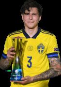 Victor Nilsson Lindelöf football render