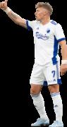 Viktor Fischer football render
