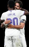 Vinicius Junior & Isco football render