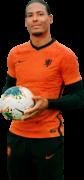 Virgil Van Dijk football render