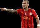 Wesley Sneijder football render