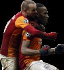 Wesley Sneijder & Didier Drogba football render