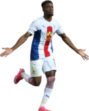 Wilfried Zaha football render