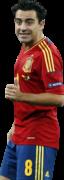 Xavi Hernandez football render