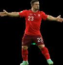 Xherdan Shaqiri football render