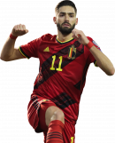 Yannick Ferreira Carrasco football render