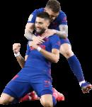 Yannick Ferreira Carrasco & Kieran Trippier football render