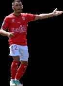 Yassine Benrahou football render