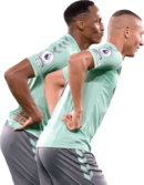 Yerry Mina & Richarlison football render