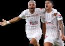 Youssef En-Nesyri & Erik Lamela football render