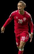Yussuf Poulsen football render