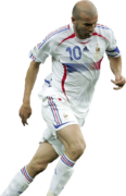 Zinedine Zidane football render
