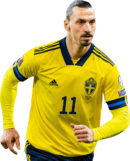Zlatan Ibrahimovic football render